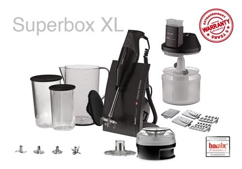 Bamix Superbox XL Svart