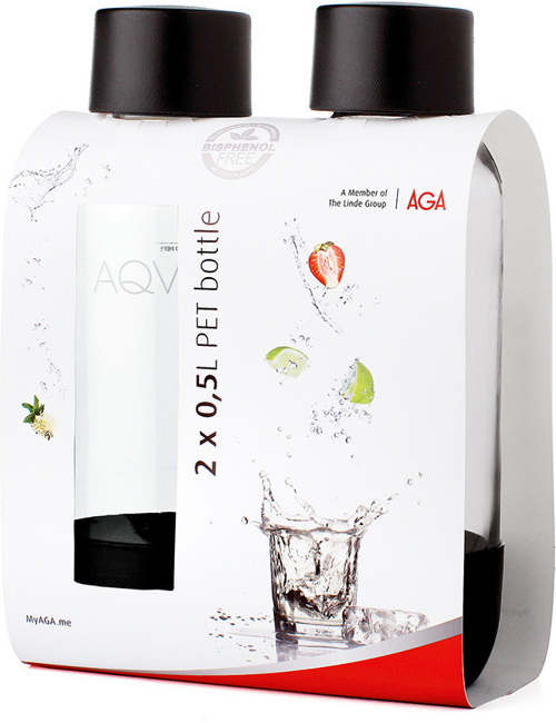 Bilde av Aqvia 2 X 0,5l Pet Bottle.