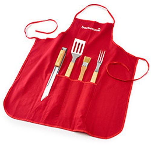 Barbecook APRON WITH 4 BARBECUE TOOLS