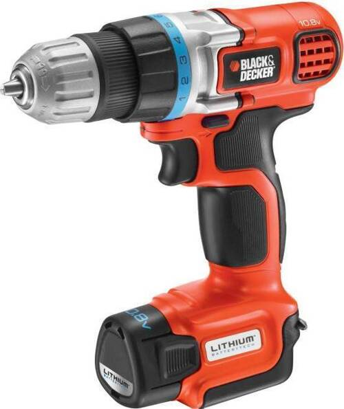 Black & Decker EGBL108KB-QW Li-Ion 2×10.8V