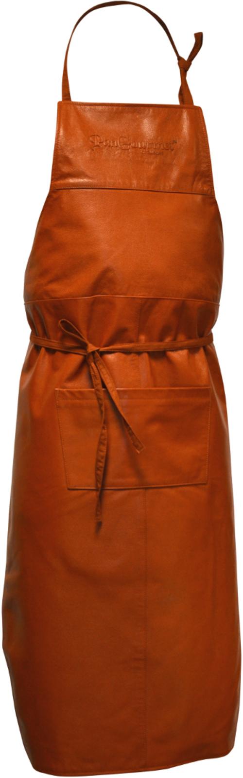 PanGourmet Läderförkläde Brun