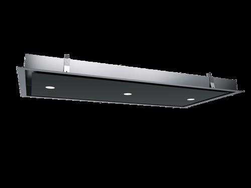 Thermex Integrata Passat sort/ rustfri m/ ext. motor loft