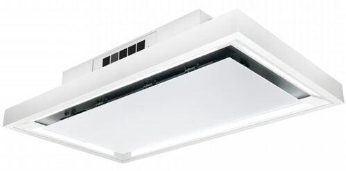 Silverline Square Box 100 cm hvid, kun til kulfilter