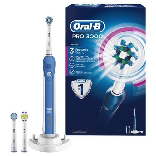 Oral-B Pro 3000. 10 st i lager