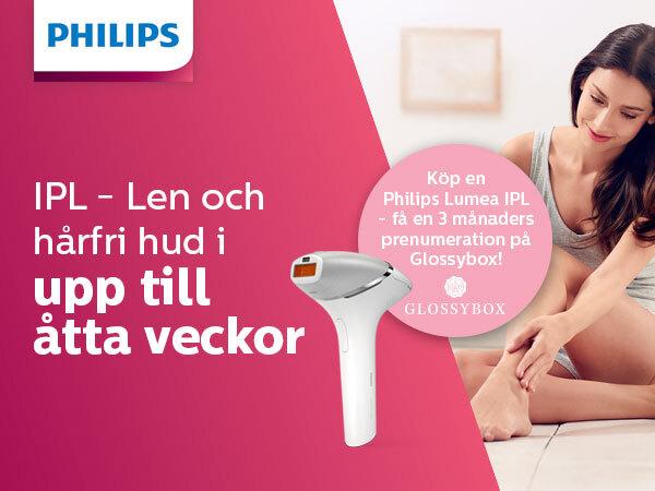 philips lumea ipl hårborttagning ljus