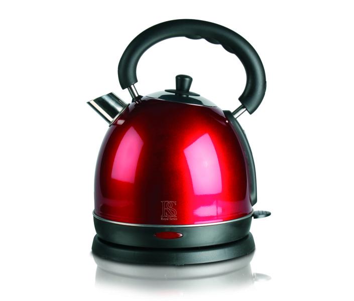Topp Royal Dome rød 1,8 liter vannkoker - Gratis levering og bredt UD-23