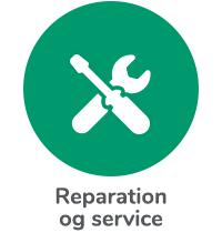 Reparation og service