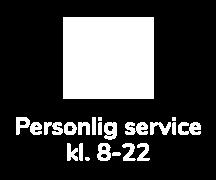 Personlige service black friday